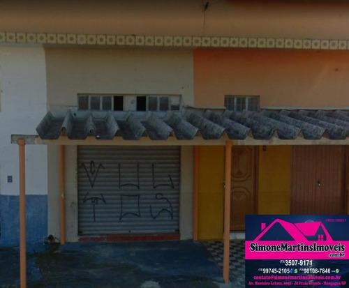 Imagem 1 de 2 de Loja À Venda, 45 M² Por R$ 120.000 - Itaóca - Mongaguá/sp - Lo0001