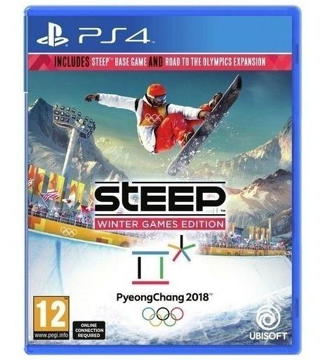 Jogo Novo Mídia Física Steep Winter Games 2018 Para Ps4