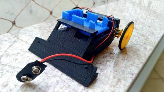 [ Vídeo ] Robô Sumô Nrf24l04 Arduino Pro Mini Nano Nunchuck