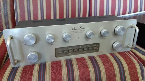 Pré Amplificador Phase Linear 2000 Vintage High End Raro