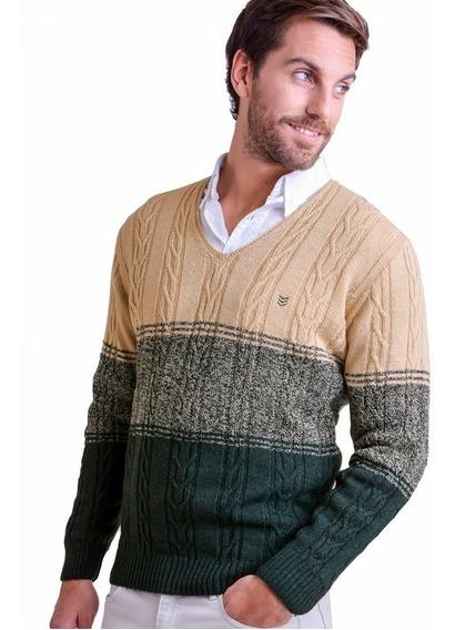 Sweater Escote V Caballero- Mauro Sergio- Art 495
