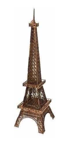 Torre Eiffel Mdf 3mm 65 Cm Decoração Enfeite Miniatura