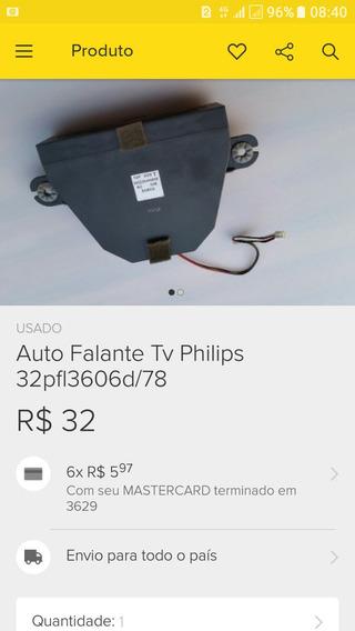 Auto Falantes Da Tv Philips 32pfl3606d