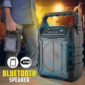 Bocina Altavoz Mediana Recargable Bluetooth Karaoke