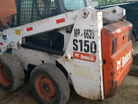 Mini-carregadeira Bobcat S150 Ano 2009 Com Vassoura