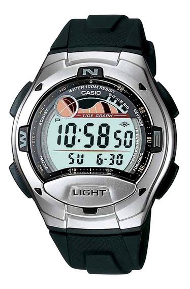 Relógio Masculino Digital Casio Standard W-753-1avdf - Preto