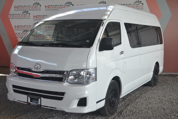 Toyota Hiace 15 Pasajeros 2013 Blanco
