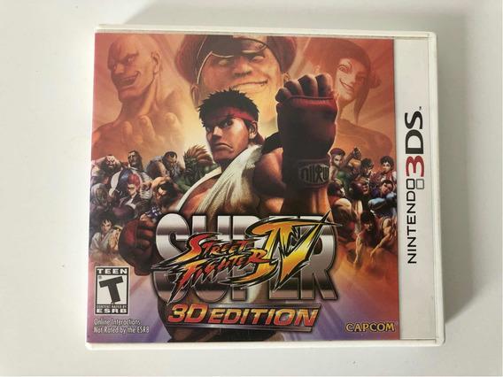 Jogo - Super Street Fighter Iv 3d - Nintendo 3ds