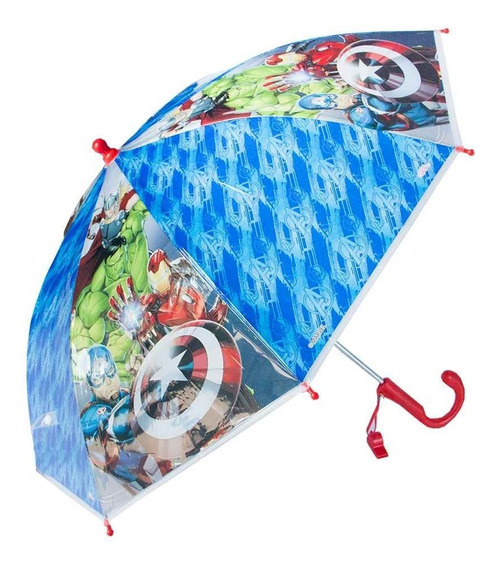 Paraguas Infantil Avengers Sp714 Licencia Original