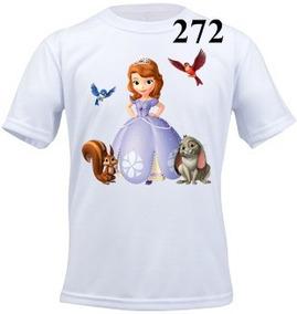 Camiseta Infantil Personalizada Princesinha Sofia