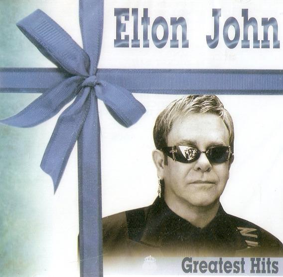 Cd Elton John - Greatest Hits - Novo Lacrado***
