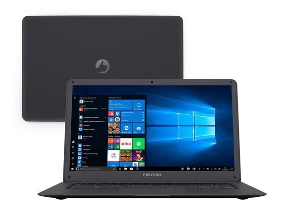 Notebook Positivo Core 2gb 32gb Ssd Tela 14 Windows 10 Motion Gray Q232a.