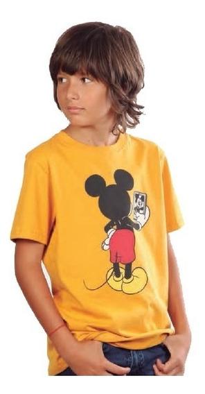 Remera Manga Corta U Mouse Niños | Moha (312280)