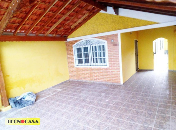 Casa Para Venda, Vila Tupi, Praia Grande. - Ca3564
