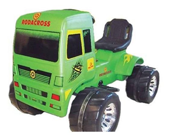 Camion A Bateria Super Truck Competicion Rodacross 6 Volts