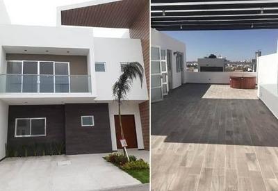 Preciosa Residencia En La Condesa Juriquilla, Roof Garden