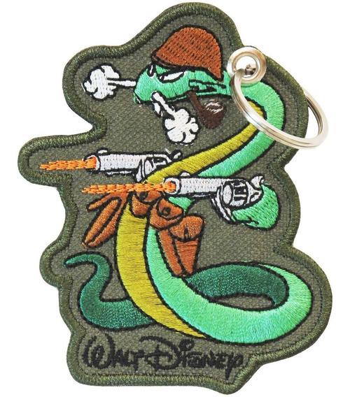 Chaveiro 2 Guerra Replica Walt Disney Cobra Fumar Brasil Feb