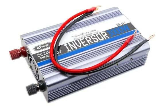 Inversor Senoidal 3000w 24v Para 110v Conversor Caminhão