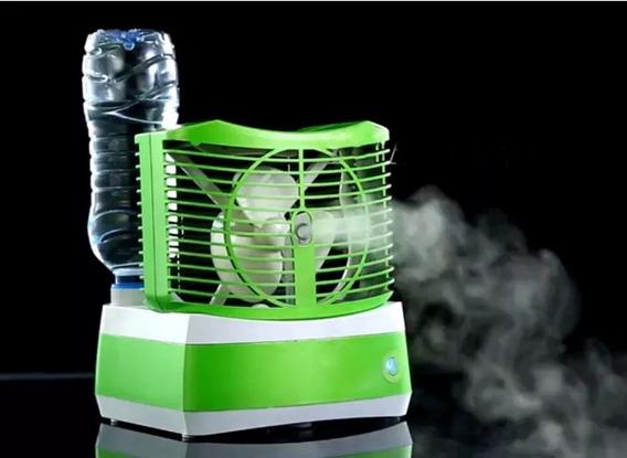 Difusor Ventilador Aromaterapia Humidificador Led Relajacion