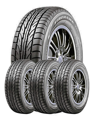 Kit 4 Neumaticos Firestone 185/60r14 Firehawk 900 Firestone