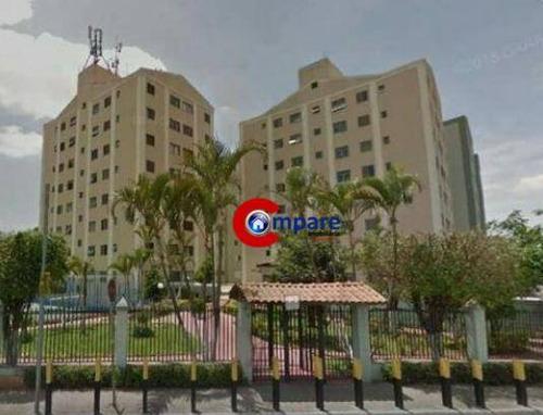 Imagem 1 de 10 de Apartamento Com 2 Dormitórios À Venda, 58 M² Por R$ 220.000,00 - Jardim Cumbica - Guarulhos/sp - Ap7413