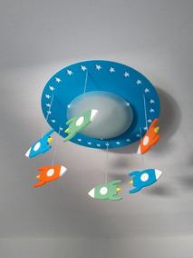 Luminaria Foguetes Espaciais Promoção Barato