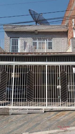 Casa Com 2 Dormitórios Para Alugar, 70 M² Por R$ 1.200/mês - Jardim Fernandes - São Paulo/sp - Ca0892