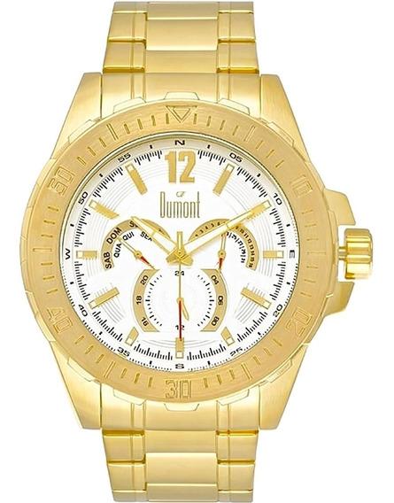 Relógio Masculino Dumont Du6p29abt/4k
