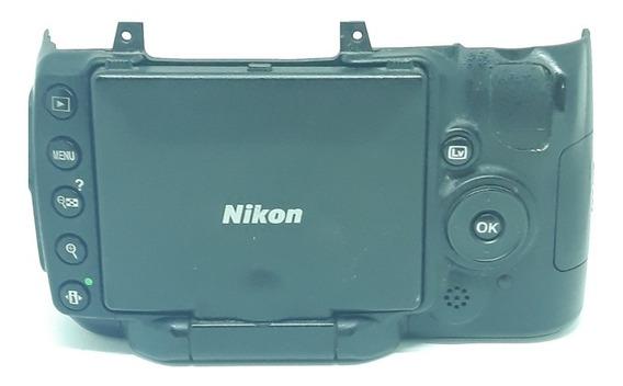 Nikon D5000 Tampa Traseira Completo Com Display