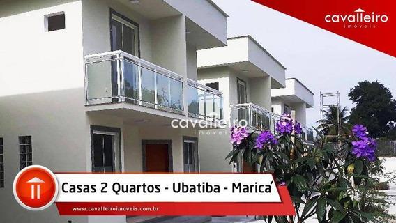 Duplex 2 Quartos (1 Suíte) Em Condomínio, Ubatiba, Maricá. - Ca2668