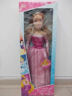 Boneca Princesa Disney Aurora 80cm 2004 Baby Brink
