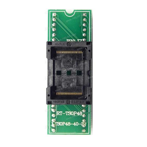 Adaptador Tsop48-dip48 Para Programadora Rt809h E Tnm5000
