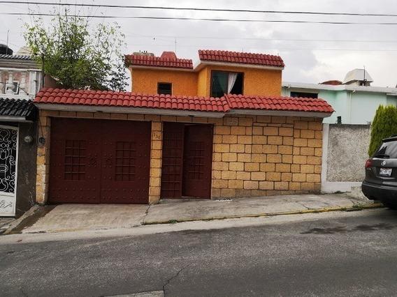 Amplia Casa En Calle Privada Parque Residencial Coacalco