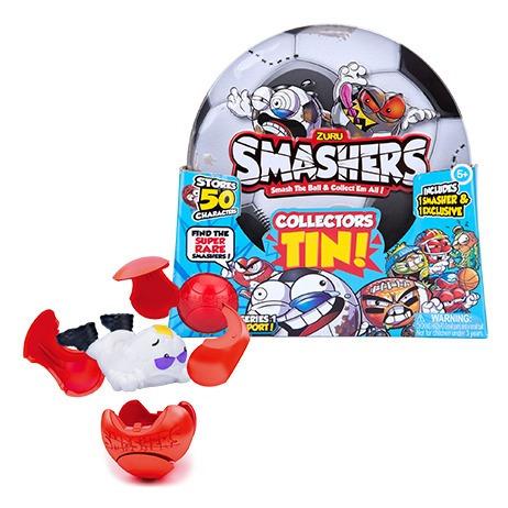 Smashers Lata Deportes Coleccionable Int W7405 Orig Wabro