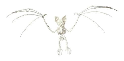 Imagen 1 de 1 de Decorativo Esqueleto De Murciélago Bat Skeleton Halloween