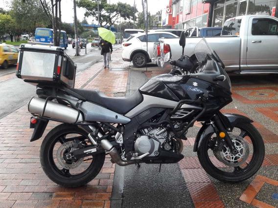 Suzuki Moto V Strom 1.000 C.c.tablero Digital Maletero Acero