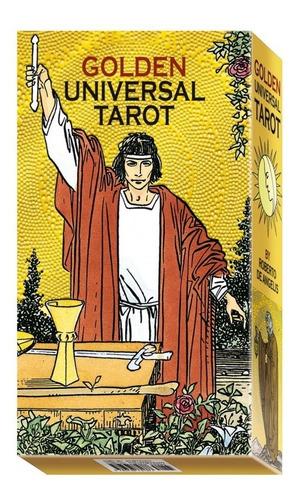 Imagen 1 de 3 de Golden Universal ( Manual + Cartas ) Tarot