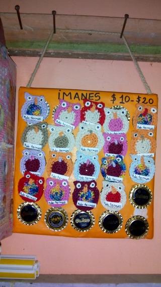 Imanes Tejidos A Crochet