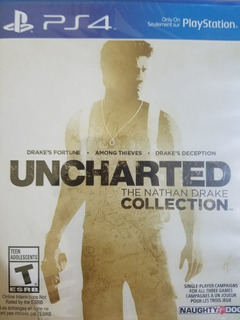 Uncharted The Nathan Drake Collection Ps4 Delivery Stock Ya