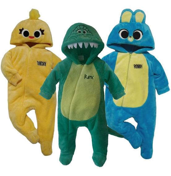Kit 3 Mamelucos Disney Ducky, Rex, Bunny A Precio De 2