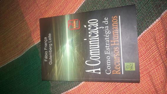 Livro: A Comunicação Como Estratégia De Recursos Humanos