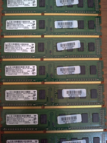 Memoria 2gb Ddr3 Pc3-10600u Smart