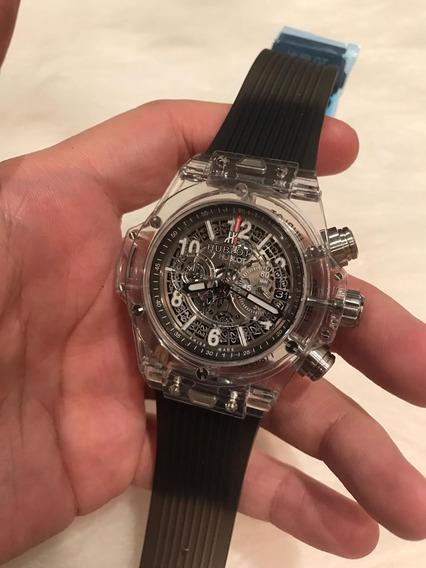 Relógio Hb Cristal Transparente 2a. G. 12x S/juros C/ Frete