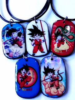 Collares Pokemon Go, Pikachu, Dragon Ball, Naruto, Goku .
