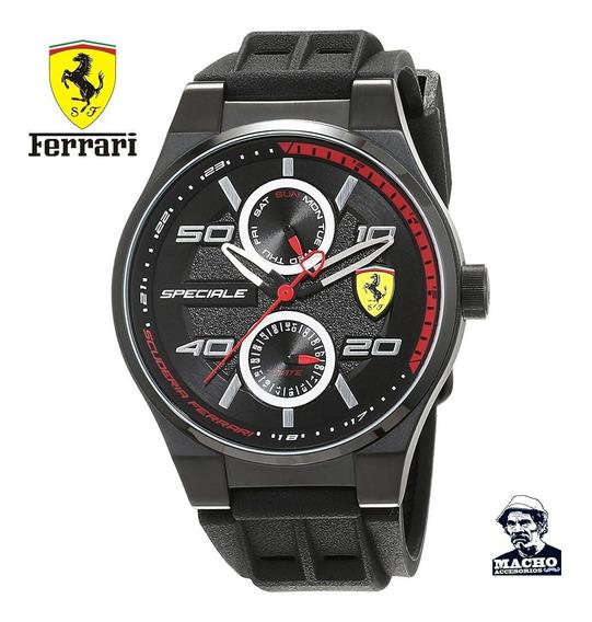 Reloj Ferrari Speciale 0830356 En Stock Original Nuevo Caja