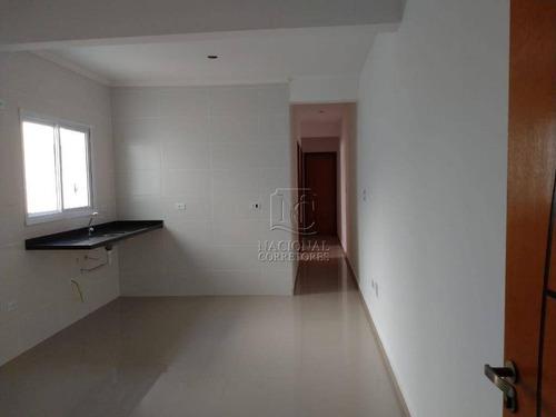 Cobertura Com 3 Dormitórios À Venda, 70 M² Por R$ 445.000,00 - Vila Humaitá - Santo André/sp - Co4686