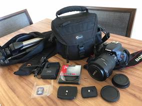 Câmera Canon T3i - Lente 18-135mm E Mais Acessórios