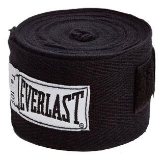 Bandagem Everlast Preta 3,05 Metros [com Nota Fiscal]