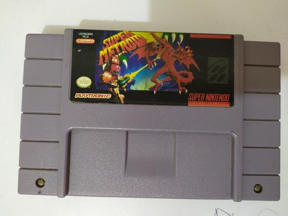 Super Metroid Playtronic Super Nintendo Original
