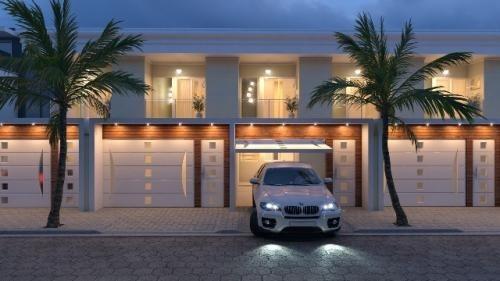 Casa Lado Praia Com 2 Quartos Em Itanhaém-sp 7920-pc